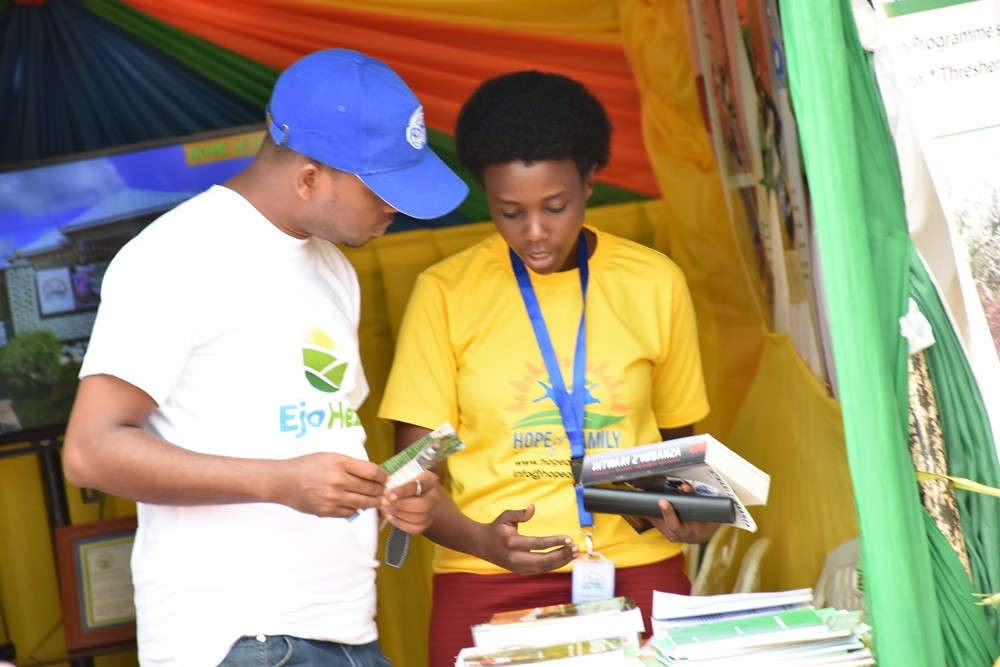 HoF participates in Muhanga District Open Day and expo
