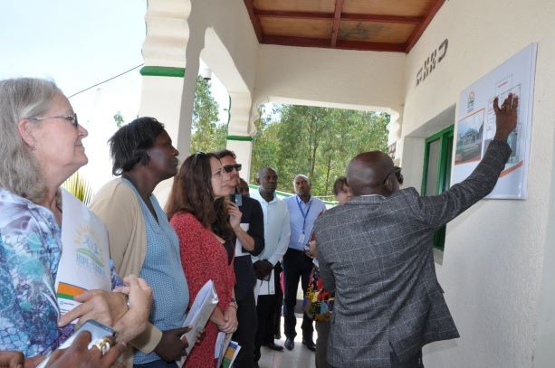 Inauguration of the HoF's office at Muhanga district